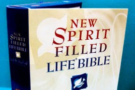 NEW SPIRIT FILLED LIFE BIBLE (Genuine Leather)
